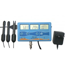 Мульти-монитор параметров pH, EC и температуры PHT-027