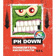 pH Down 0,5 L